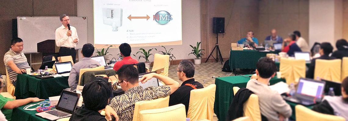 Advanced LigoWave training in Shenzhen, CH